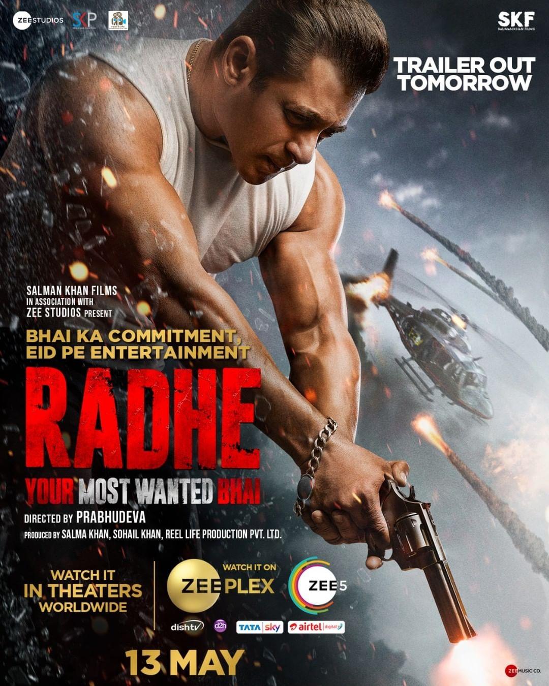 Salman's 'Radhe' to release on multiple platforms