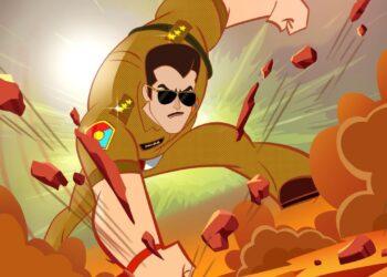 Chulbul Pandey in new animated avatar on Disney+Hotstar